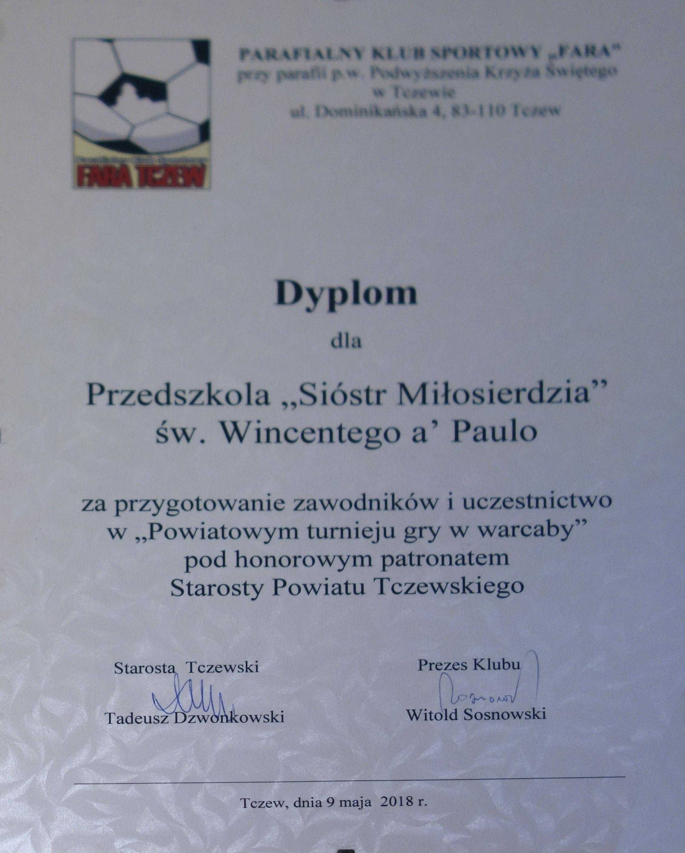 9 Dyplomy 2018